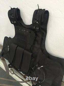 Tactical bulletproof vest FREE 3A Ballistic Inserts Body Armor S M L XL