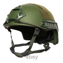 True NIJ IIIA Ballistic Bulletproof Helmet FAST Made with Kevlar (VIDEO)