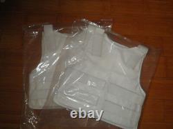 VIP White Concealable Bullet Proof Vest IIIA NIJ0101.06