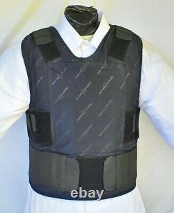 XL IIIA Lo Vis / Concealable Body Armor Carrier BulletProof Vest