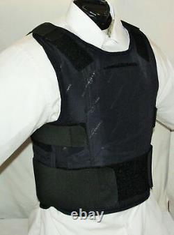 XL/Long IIIA Lo-Vis Concealable Body Armor Carrier BulletProof Vest with Inserts