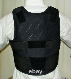 XXL/Long IIIA Lo Vis / Concealable Body Armor Carrier BulletProof Vest
