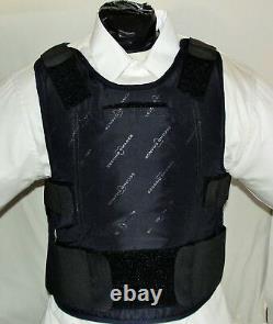 XXXL IIIA Lo Vis / Concealable Body Armor Carrier BulletProof Vest with Inserts