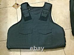 XXX-large Body Armor Bullet Proof Vest With Plates / panels level II